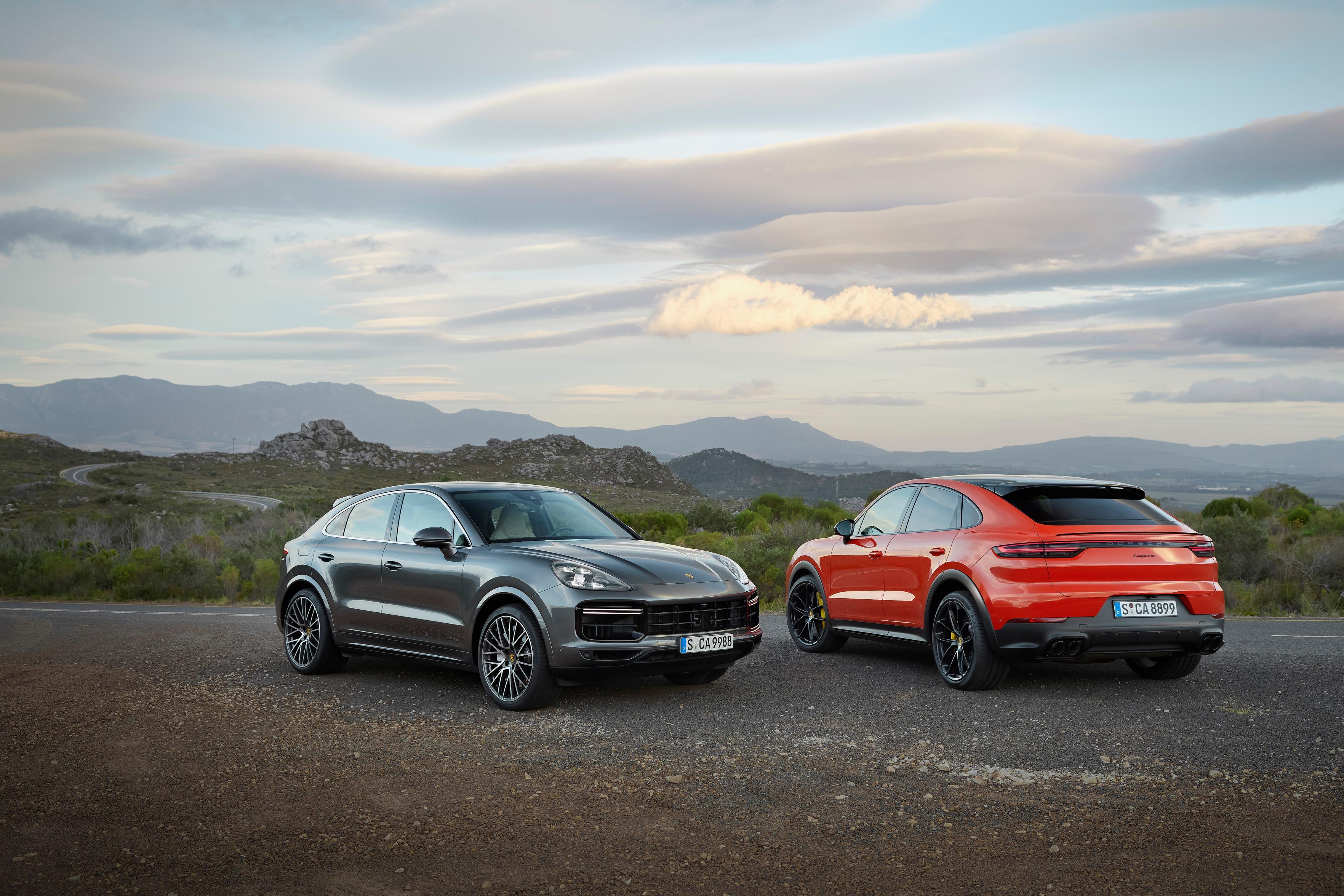 Photo of Porsche'den SUV ailesine yeni gövdesiyle Cayenne Coupé!