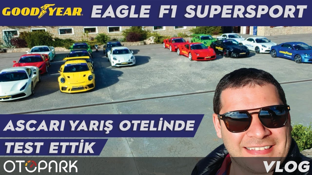Photo of Ascari Yarış Otelinde, Goodyear Eagle F1 SuperSport Lastiklerini TEST Ettik !! | VLOG