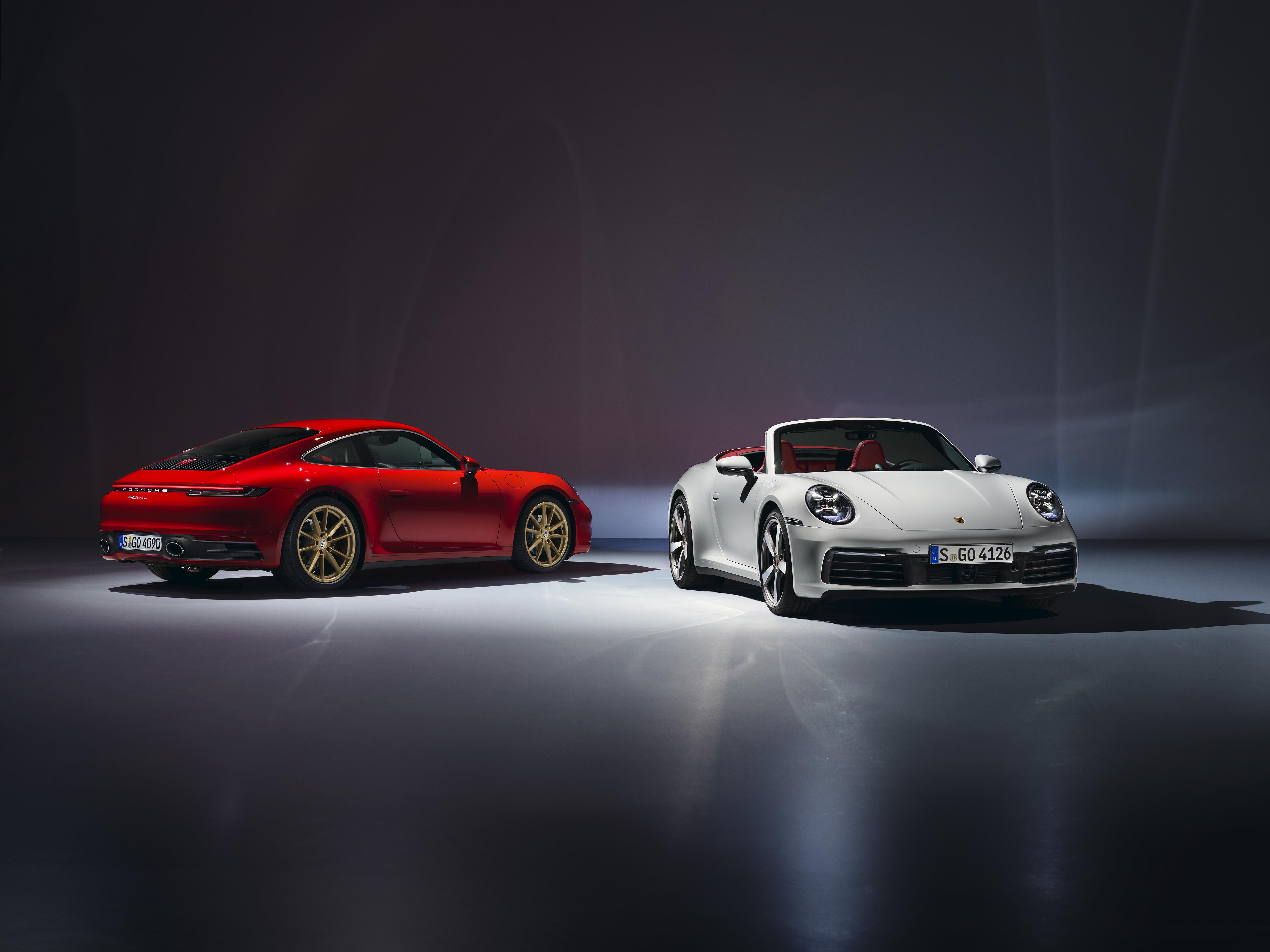 Photo of Porsche 911 Carrera Coupé ve Cabriolet tanıtıldı