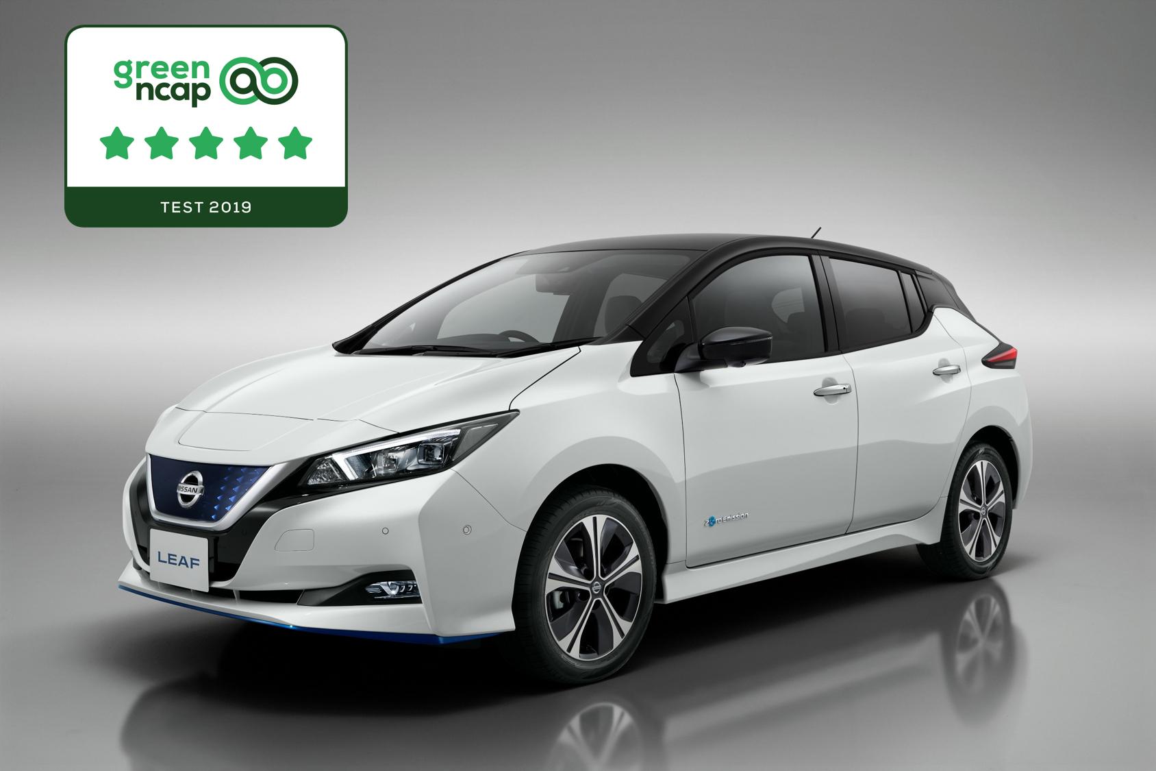 Photo of Euro NCAP'den NISSAN Leaf için 5 yıldız