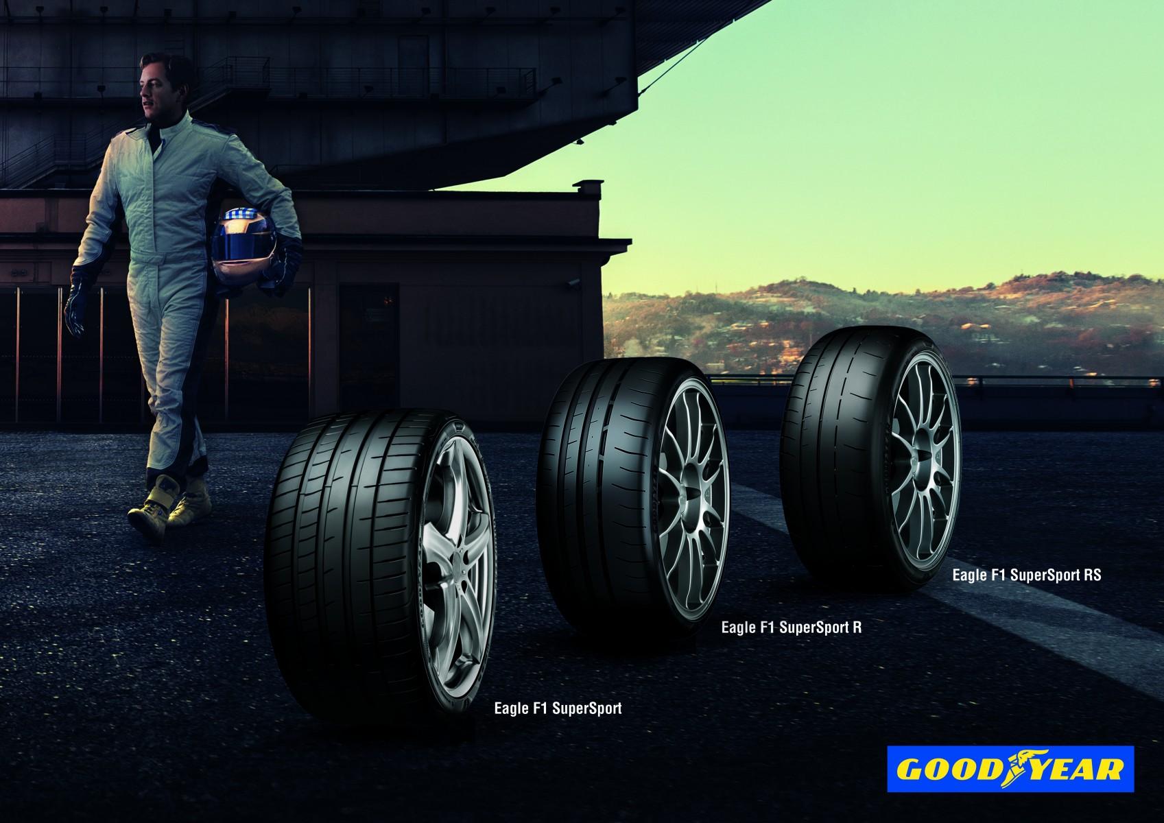 Photo of Goodyear Yeni Eagle F1 SuperSport Serisi ile sınırları zorluyor!