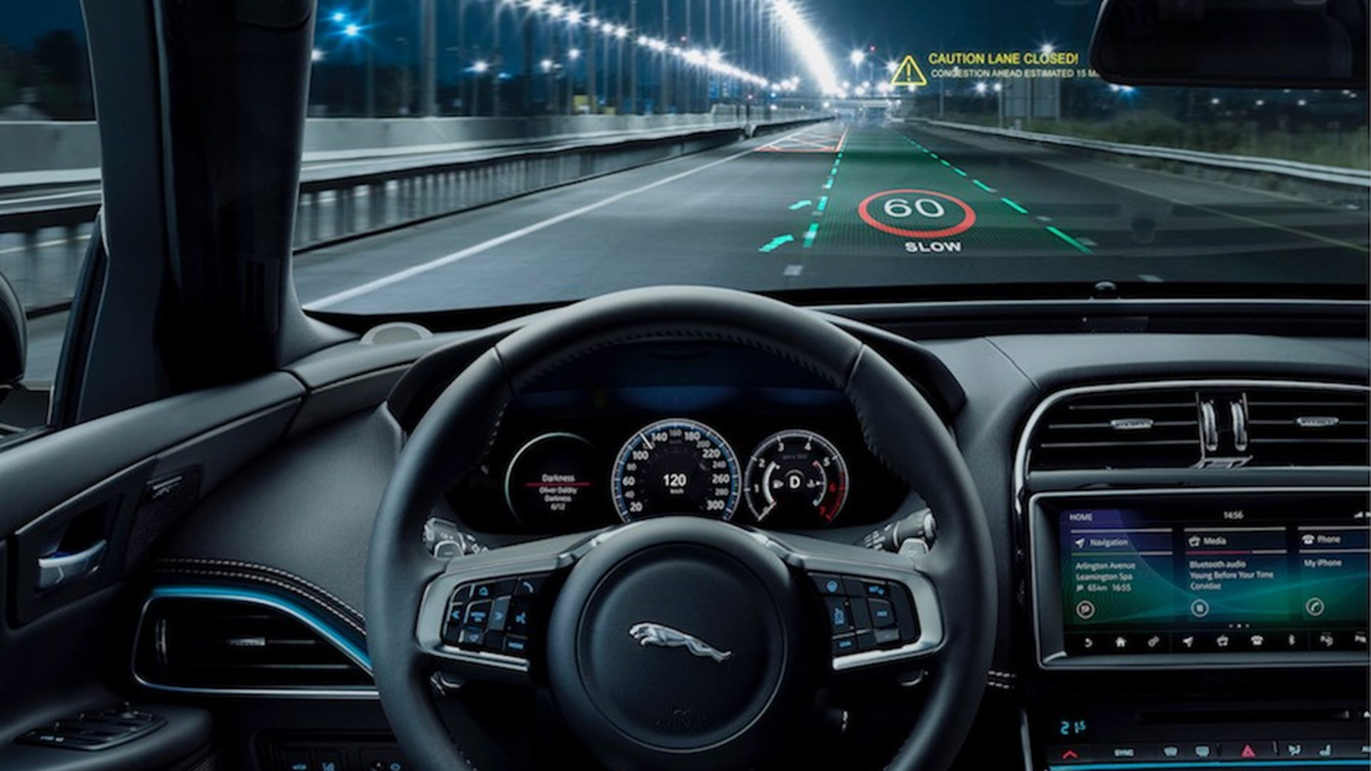 Photo of Jaguar Land Rover'dan 3 boyutlu head-up display!
