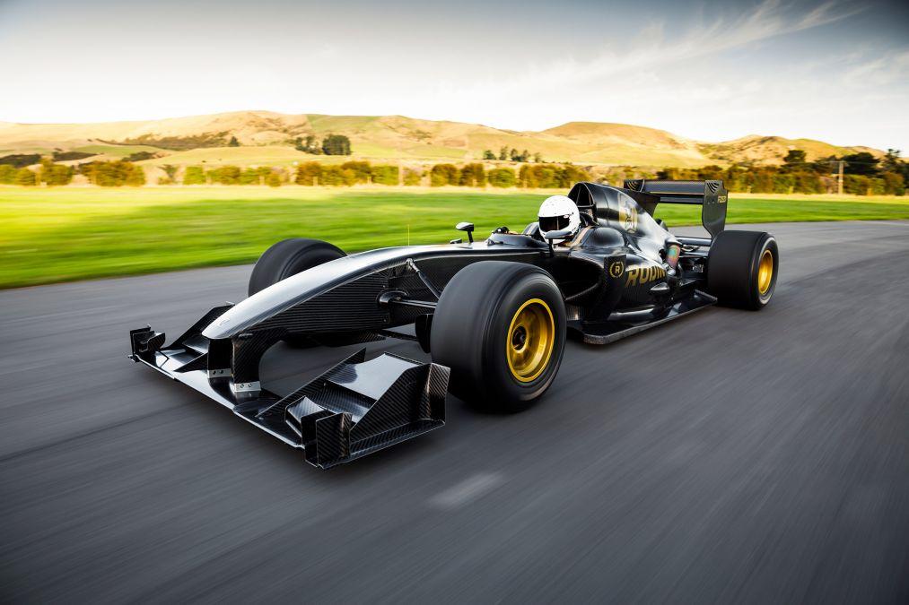 Photo of Formula 1 aracı ayağınıza geldi: Rodin FZED!