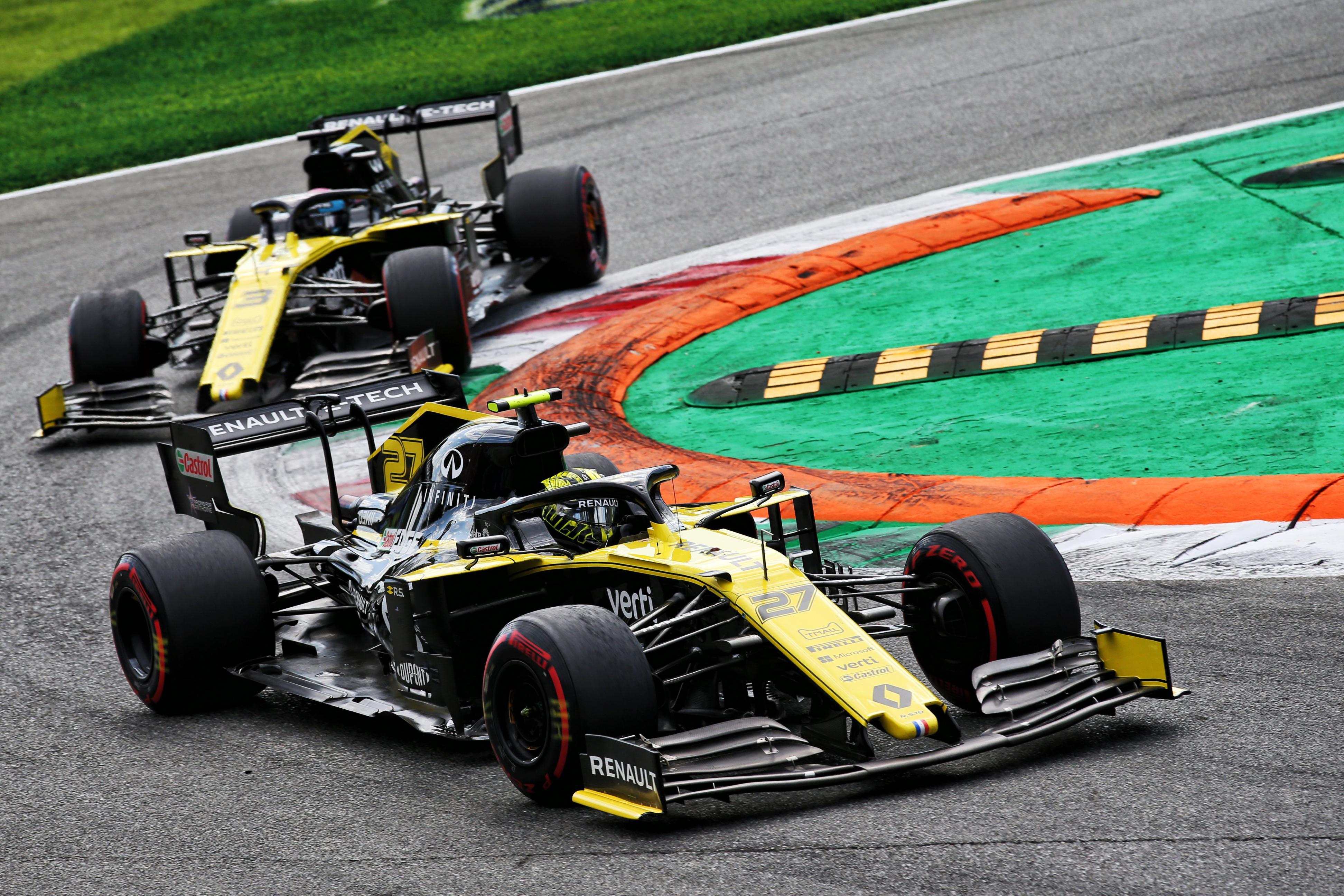 Photo of Renault F1 Takımı, İtalya Grand Prix'den mutlu döndü