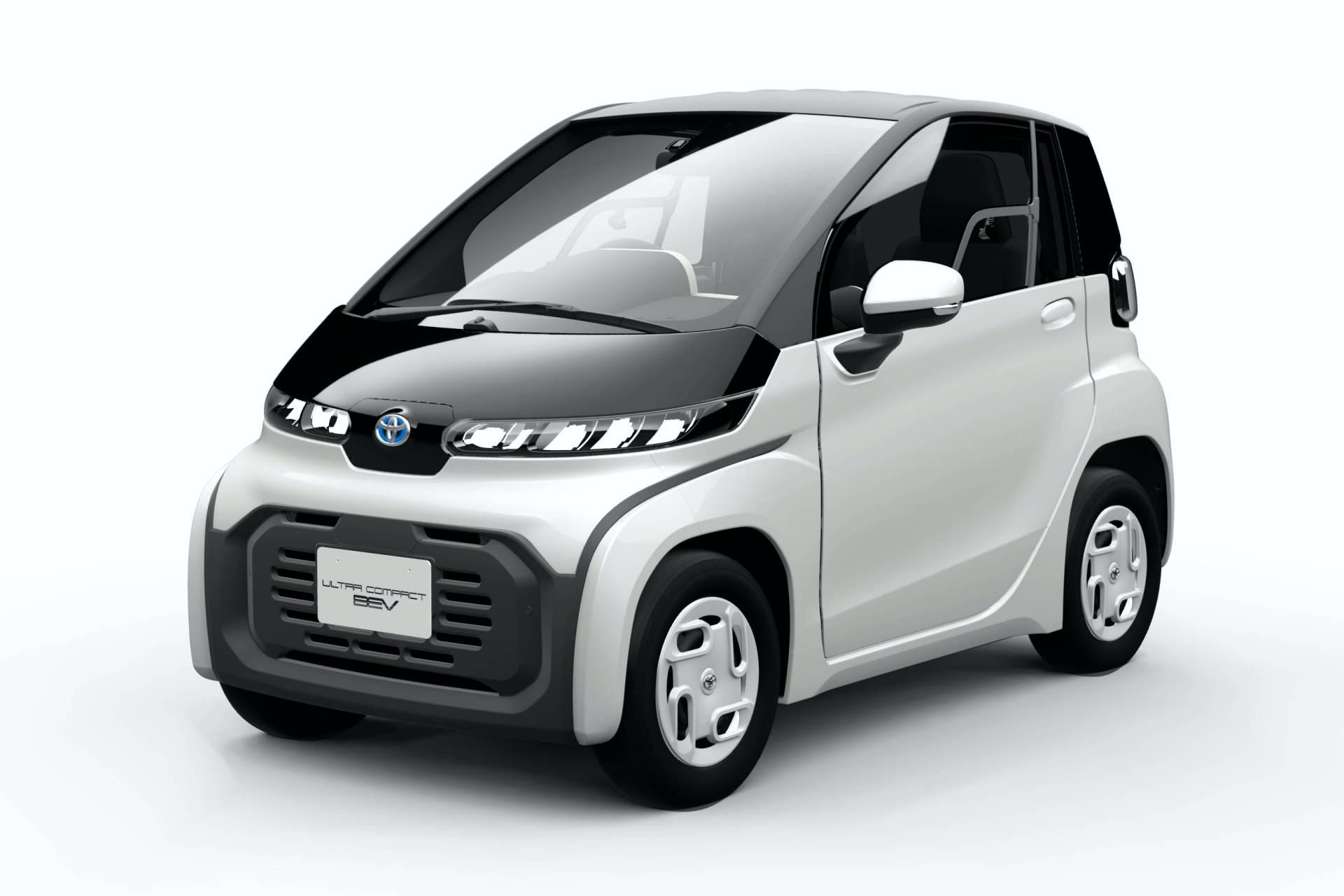 Photo of Toyota, elektrikli kompakt şehir aracını duyurdu