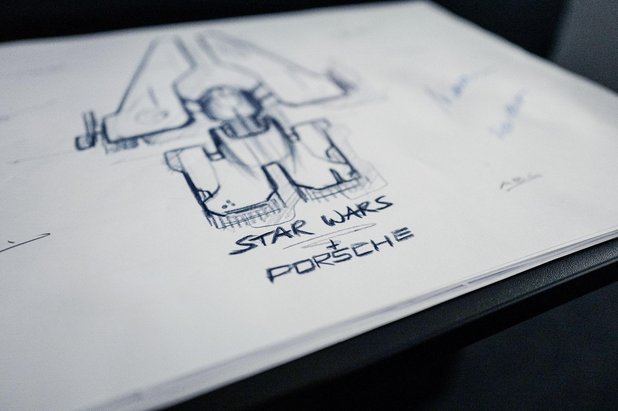 Photo of Porsche, Star Wars için uzay gemisi tasarlıyor