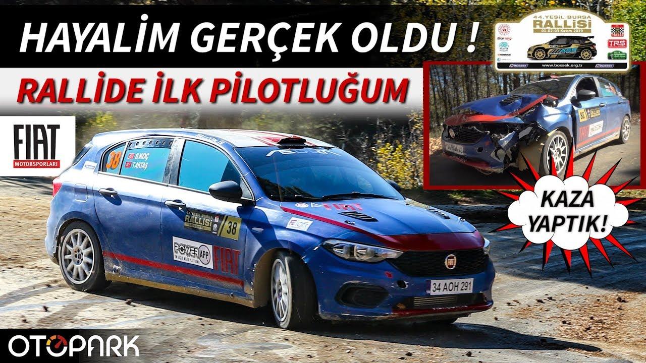 Photo of KAZA YAPTIK! | İlk ralli pilotluğum | Yeşil Bursa Rallisi