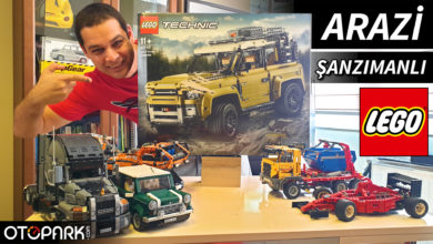 Photo of ARAZİ ŞANZIMANLI LEGO Technic Land Rover Defender