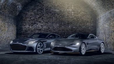 Aston Martin Vantage 007 Edition ve DBS Superleggera 007 Edition